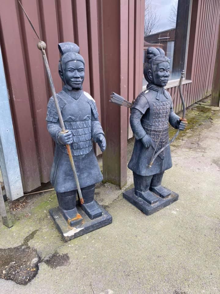 chinesische Kriegsfiguren